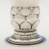 Decoration on Georg Jensen Antique Sterling Silver #68 Vase, Copenhagen, Denmark, 1925-32