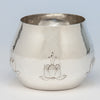 The Kalo Shop Early Arts & Crafts Sterling Silver Bowl or Vase, Park Ridge, IL, c. 1908-12