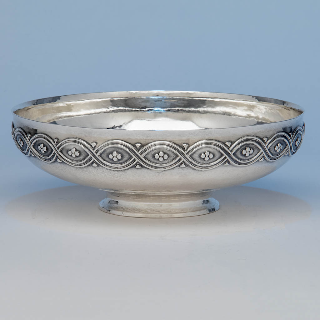Tiffany & Co 'Special Hand Work' Large Sterling Silver Centerpiece Bowl, c. 1912