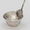 "Bowl of the Gorham ""Bird's Nest"" Antique Sterling Silver Pierced Ladle, Providence, RI, c. 1870"