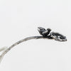 "Handle of the Gorham ""Bird's Nest"" Antique Sterling Silver Pierced Ladle, Providence, RI, c. 1870"