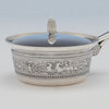 Body of Gorham Antique Sterling Silver Covered Porringer, Providence, RI, 1874