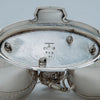 Marks on Gorham Antique Sterling Silver Figural Dessert Cream & Sugar Stand, Providence, RI, 1870