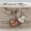 Mixed metal detail Whiting Antique Sterling Silver Aesthetic Movement Mixed Metals Bowl, New York City or North Attleboro, MA, c. 1875