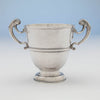 Back of George Hodder George II Irish Sterling Silver 2-handled Cup, Cork, c. 1750