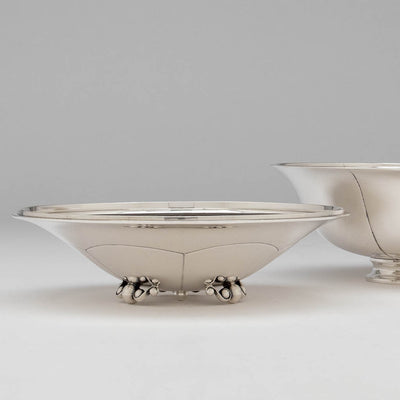 Bowls of Erik Magnussen for Gorham Sterling Silver Covered Centerpiece Bowl, Providence, RI, 1926