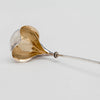Gorham #26 Wire-work Antique Sterling Silver Sauce Ladle, Providence, RI, c. 1870