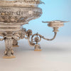 Base detail of Gorham Rare 'Sample' Massive Antique Sterling Silver 'Louis XVI' Centerpiece, Providence, RI, c. 1910