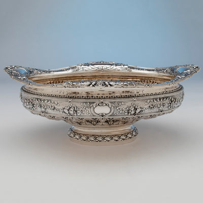 Bowl to Gorham Rare 'Sample' Massive Antique Sterling Silver 'Louis XVI' Centerpiece, Providence, RI, c. 1910