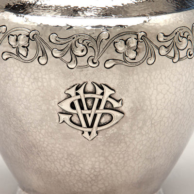 Detail of Marshall Field & Company 'Colonial' Sterling Silver Arts & Crafts Water Pitcher, Chicago, 1907-c. 1925