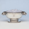Tiffany & Co Antique Sterling Silver Figural Ice Bowl, New York City, c. 1870-75