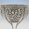 Samuel Kirk & Sons Rare 11oz Silver Fruit Stand or Centerpiece Bowl, Baltimore, MD, 1860-68