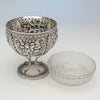 Parts to S. Kirk & Sons Rare 11oz Silver Fruit Stand or Centerpiece Bowl, Baltimore, MD, 1860-68