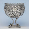 S. Kirk & Sons Rare 11oz Silver Fruit Stand or Centerpiece Bowl, Baltimore, MD, 1860-68