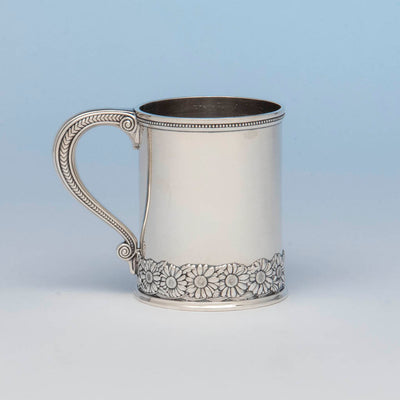 Tiffany & Co Antique Sterling Silver Child's Cup, NYC, c. 1875