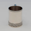 Front of Tiffany & Co Antique Sterling Silver Child's Cup, NYC, c. 1875