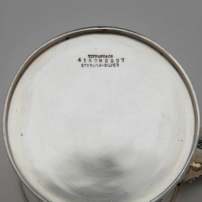 Marks on Tiffany & Co Antique Sterling Silver Child's Cup, NYC, c. 1875
