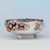 Gorham Antique Sterling Silver and Other Metals Aesthetic Movement Mixed Metals Fruit Bowl, 1881