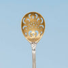 Bowl to Tiffany & Co 'Holly' Pattern Antique Sterling Silver Olive Spoon, NYC, NY, c. 1900
