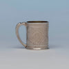Whiting Antique Sterling Silver Indo-Persian Style Child's Cup, NYC, NY, c. 1880's