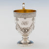 Monogram on Edward and James Barnard Antique Sterling Cup, London, 1865/66