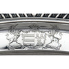 Paul Storr English Regency Large Antique Sterling Silver Meat Platter, London, 1819/20, bearing the Arms of the Earl of Stamford