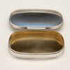 Interior of Stone Associates Sterling Silver Arts & Crafts Pill Box, c. 1940