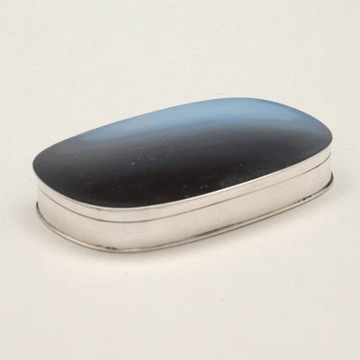 Stone Associates Sterling Silver Arts & Crafts Pill Box, c. 1940