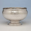 Joseph Sanders George II Antique Sterling Silver Punch Bowl, London, 1735/36