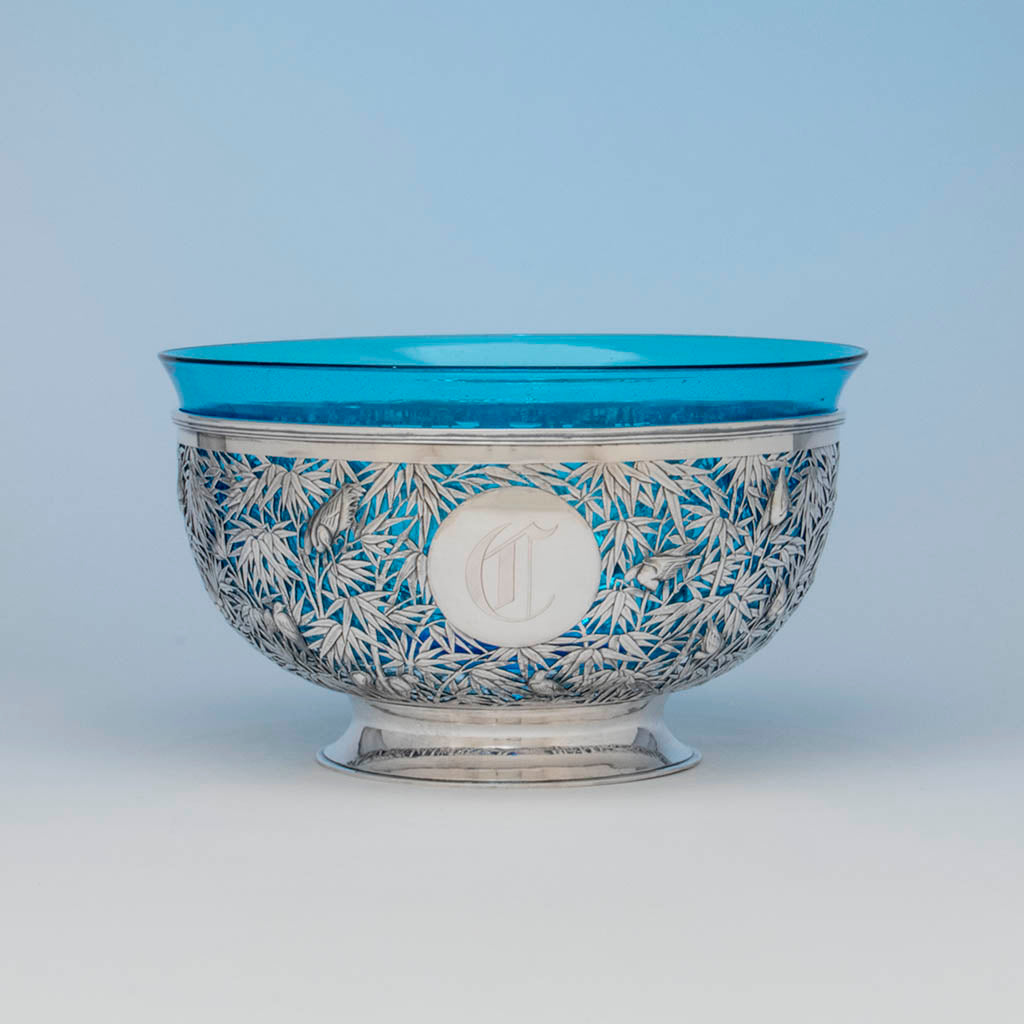 Recently viewed luen wo antique chinese export silver punch bowl