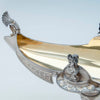 Pierced border of Whiting Antique Sterling Silver Figural Centerpiece, NYC, c. 1875-80