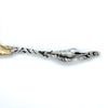 Handle to Ludwig, Redlich & Co Antique Sterling Silver Fried Oyster Server, NYC, 1890-95