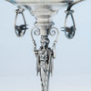 Side compote birds to Wood and Hughes Antique Sterling Figural Garniture Suite, NYC, c. 1870's