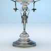 Side compote casting to Wood and Hughes Antique Sterling Figural Garniture Suite, NYC, c. 1870's