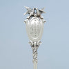Detail of Gorham 'Bridal' Pattern Antique Sterling Silver Pie Server, Providence, RI, c. 1869