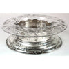 Gorham Extremely Fine Sterling and Cut Glass Special Order Centerpiece, retailed by Grogan Co., Pittsburgh, c. 1908