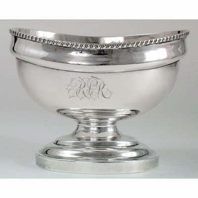 Charles Alexander Burnett Coin Silver Bowl, Washington,DC, c. 1805.