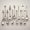 Gorham Rare Original Set of 12 Antique Sterling Silver Five O'clock Tea Spoons, Providence, RI, c. 1888