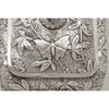 Butterfly on cover to Dominick & Haff Antique Sterling Silver Aesthetic Movement Covered Tureen, New York City, 1881