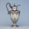 Edward, Edward Jr, John & William Barnard William IV Sterling Presentation Ewer or Hot Beverage Jug by, London, 1835/36