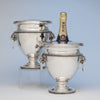 Tiffany & Co./ John C. Moore Pair of Antique Sterling Silver Wine Coolers, New York City, 1856-70