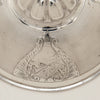 Fishing scene on Gorham Antique Coin Silver Covered Sugar Bowl, Providence, RI, 1859 of Rhode Island historical interest