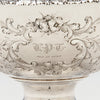 Monogram and date on William Gale & Son Antique Coin Silver Fruit or Centerpiece Bowl, New York City, 1856