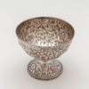 Above view of the S. Kirk & Son 11oz Silver Antique Repoussé Bowl, Baltimore, 1869-91