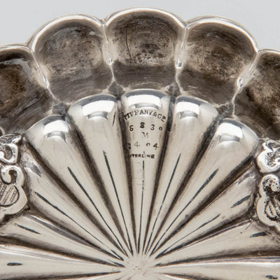 Marks on Tiffany & Co Set of 4 Antique Sterling Silver Master Salts, NYC, c. 1882