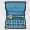 George Sharp Antique Sterling Silver Nut Set, Philadelphia, PA, late 1860's