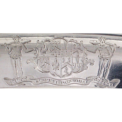Armorial on Paul Storr Regency Sterling Meat Platter, London, c. 1818/19
