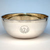 Michael Murray English Modern Sterling Large Punch/ Centerpiece Bowl, London, 1954/55