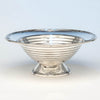 International Silver Company 'Ebb Tide' Modern Sterling Silver Bowl designed by Alfred Kintz, Meriden, CT, c. 1928