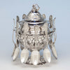 Tiffany & Co./ John C. Moore Antique Sterling Silver Spooner, New York City, 1856-69